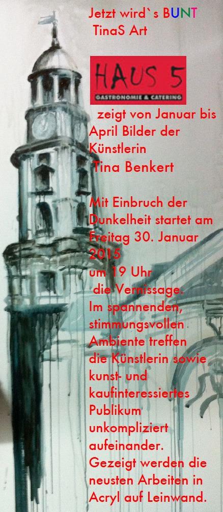 Vernissage Tina Benkert Januar 2015