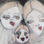 Eine Arbeit der Künstlerin Julia Staron