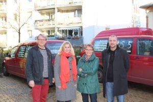 Axel Graßmann, Nicole Khuon, Anja Hajduk und Dieter Sanlier