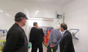 Besichtigung des Produktionsbereiches der Haus5-Gemeinschaftsverpflegung