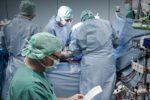 Operation an Herz und Aorta mit Herz-Lungenmaschine, Uniklinik Frankfurt.