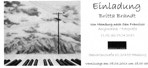 Britta Brandt - Vernissage im Haus5